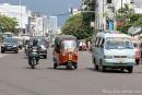 Tuktuks fahren auch in Jakarta