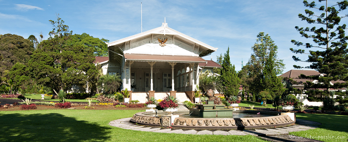 Präsidentenpalast in Cibodas