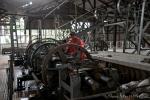 Produktionshalle der Kautschukgewinnung