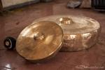 Gongs in unterschiedlicher Größe