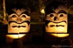 Abendliche Illumination im Novotel Bogor