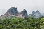Marmorabbau - der Berg wird zerlegt