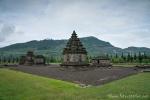 Tempelanlage des Arjuna-Komplex auf dem Dieng-Plateau