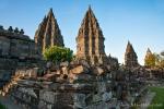 Auch am Prambanan-Tempel hat das Erdbeben seine Spuren hinterlassen