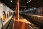 Der Bahnhof von Yogyakarta ist blitzsauber