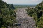 Bis ins Tal hat der Vulkan Kelud seine Spuren hinterlassen