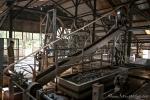 Produktionshalle für die Kautschukgewinnung