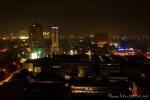 Blick aus dem Hotelfenster über Jakarta
