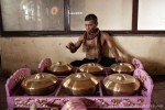 Die Gongs haben einen tollen Klang