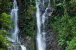 """Wasserfall der """"Curug 7 Cilember"""" (Wisatawan Mancanegara)"""