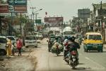 Typischer Stadtverkehr