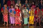 Aufführung der Kindergruppe beim Angklung