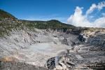 Vulkankrater Tangkuban Prahu im Preanger Hochland