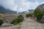 Eingang zum Vulkankratergebiet des Papndayan
