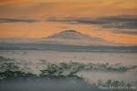 Blick auf den nächsten Vulkan
