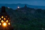 Blick auf die Tempelanlage