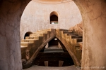 In dieser unterirdischen Moschee ist es angenehm kühl