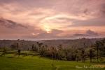 Sonnenuntergang am Ijen-Resort