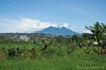Blick auf den Gunung Gede