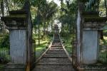 Am Hindu-Tempel Candi Cangkuang