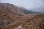 Geröllwüset des Vulkans Papandayan