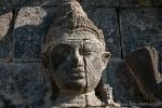 Relief an einem Tempel der Candi Sewu-Anlage