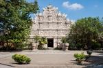 Prachtvolle Fassade am Wasserschloss Taman Sari