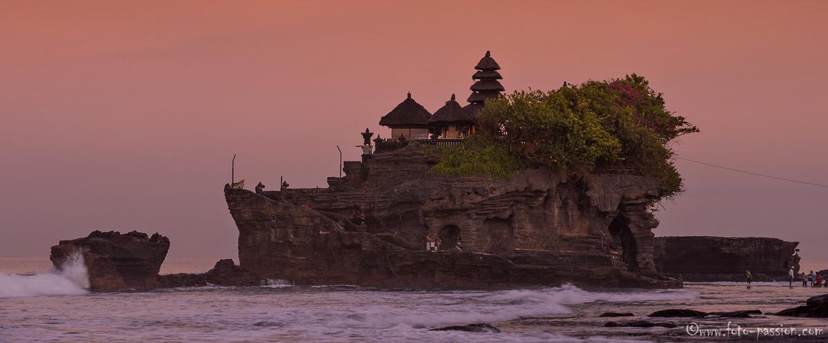 Der berühmte Meerestempel Tanah Lot