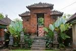 Der Palast Puri Agung Kerambitan besteht aus mehreren Anlagen