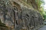 Steinfries am historischen Badeplatz Yeh Pulu