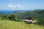 Blick auf düe Südküste Balis