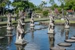 Hier kann man sogar über das Wasser laufen - Wasserpalast Taman Tirtagangga