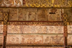 Die Srafen sind an der Decke der Gerichtshalle Kerta Gosa verewigt.