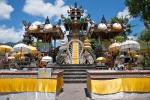 Pulaki Tempel reich geschmückt