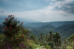 Atemberaubender Ausblick vom Puri Lumbung Cottahges Resort