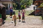 Im Dorf Tenganan, das noch sehr traditionell lebt