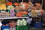Obst, Gemüse und Nüsse gibt esim Überfluss