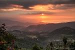 Fantastischer Sonnenuntergang und Blick bis zur Nordküste