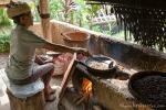 Hier wird der Kaffee noch traditionell geröstet und schmeckt großartig