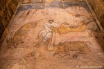 Wüstenschloss Qusair Amra, alte Fresken