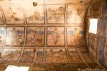 Wüstenschloss Qusair Amra, Deckengemälde