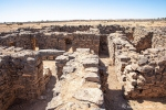 Grundmauern des ehemaligen Wüstenschlosses Qasr Ain-Es-Sil