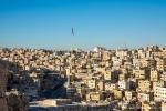 Blick von der Zitadelle des Jabal el Qala'a, Amman