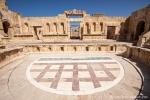 Kleines Amphittheater in Jerasch