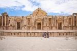 In einem der Amphittheater in Jerasch