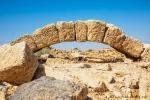 Großer Steinbogen in Umm Ar-Rasas