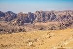 Die Landschaft von Petra