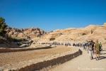 Zugang zur Felsenstadt Petra