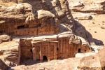 Blick in die Farasa-Schlucht von Petra