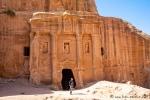 Soldatengrab in Petra